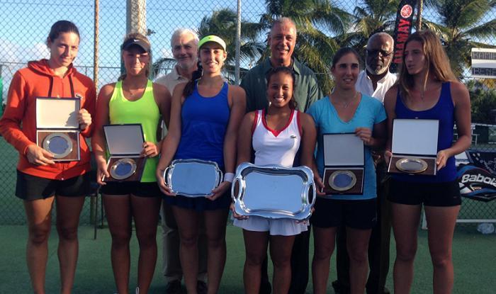 Tennis : finale de la 3 ème édition de l'Open féminin