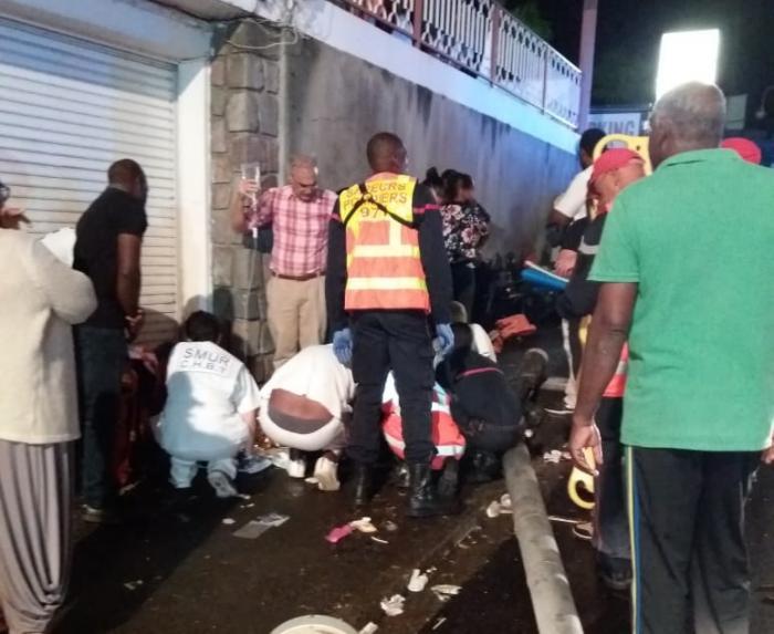 Terrible accident au carnaval de Basse-Terre