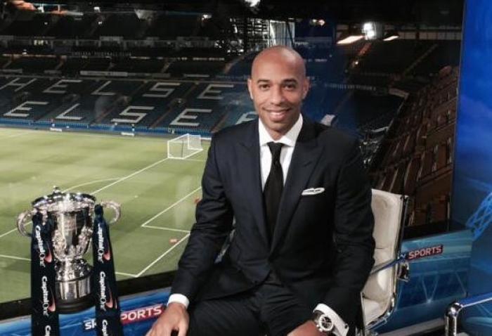Thierry Henry de nouveau papa !
