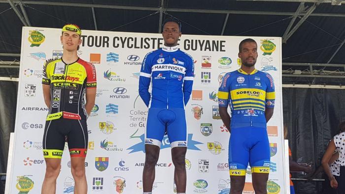 Thierry Ragot remporte la 4ème étape du Tour Cycliste de la Guyane