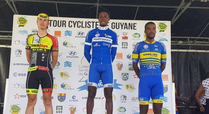 Thierry Ragot termine 2ème du Tour de Guyane 2018