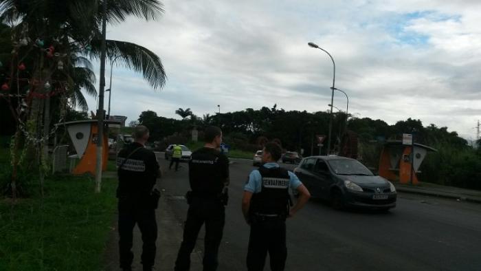 Tirs sur des gendarmes à la Boucan