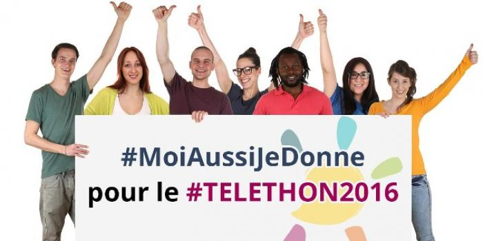 #Téléthon2016 : 48 000 euros de promesse de dons enregistrés