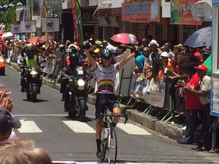 Tour cycliste de Martinique : victoire de Mario Alberto Rojas Rojas à Rivière-Pilote