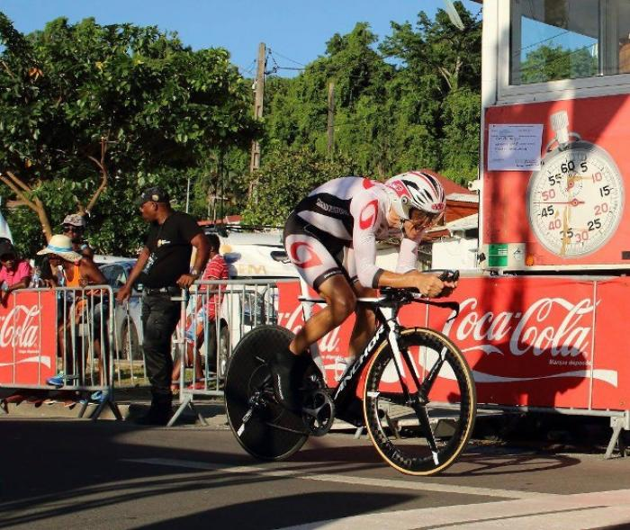 Tour de Guadeloupe : Damien Monier remporte le 2e tronçon, José Chacon arrache le maillot jaune