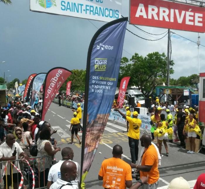 Tour de Guadeloupe : Yannis Cidolit, une victoire saint-franciscaine