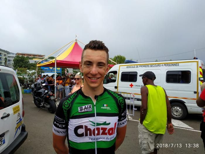 Tour de Martinique 2018 :  Quentin Grolleau arrive en grand vainqueur au Marin