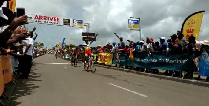 Tour de Martinique 2018 : victoire de Loïc Laviolette (Guadeloupe) à Ducos