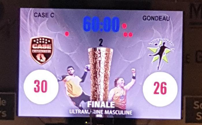 Tournoi Ultramarin : défaite de l'Etoile de Gondeau en finale 30 à 26