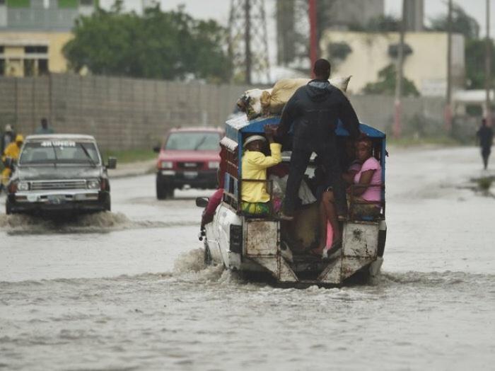 """""""Toute la zone au sud du pays est inondée"""", Evans Paul, ancien premier ministre d'Haïti"""