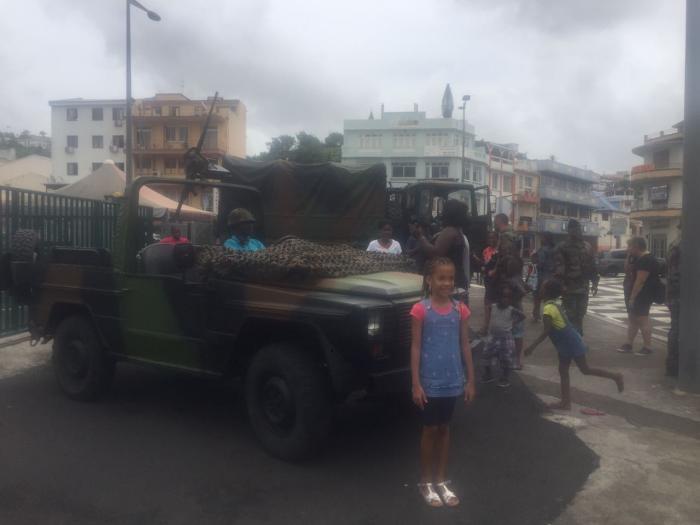 Traditionnel défilé du 14 juillet à Fort-de-France