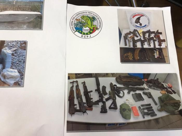 Trafic d'armes : la plus grosse saisie jamais réalisée en Martinique