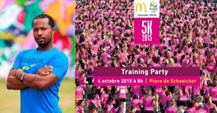 Training Party : En pleine préparation du 5K !