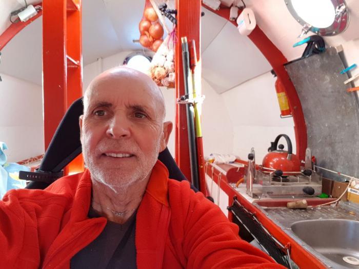Transatlantique en tonneau: Jean-Jacques Savin se dirige enfin vers le Sud-Ouest
