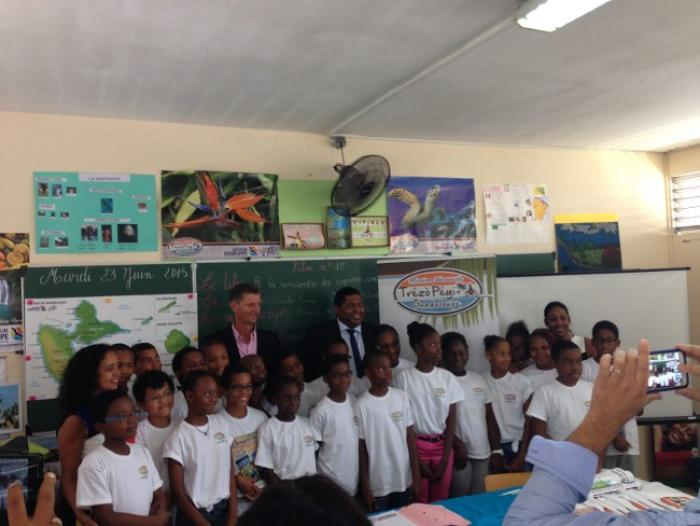 Trézò Péyi : une valise pédagogique pour valoriser la Guadeloupe