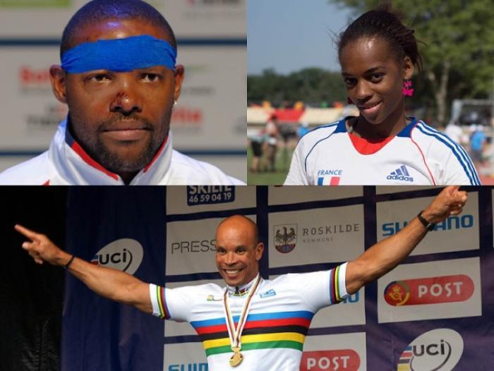 Trois Martiniquais visent l'or aux Jeux Paralympiques de Rio