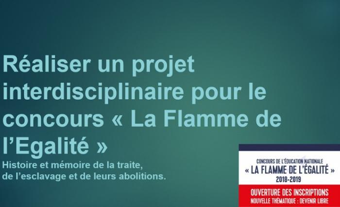 Trois établissements de Guadeloupe primés au concours « La Flamme de l'Égalité »