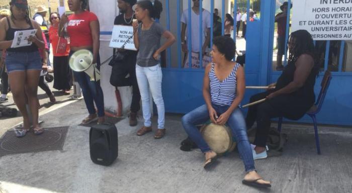 UA : malgré la rencontre avec Eustase Janky les étudiants restent mobilisés