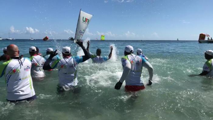 UFR/Chanflor gagne la coupe de Martinique des Yoles Rondes