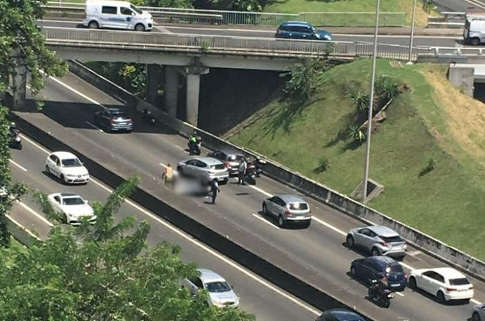 Un accident de moto à Chateauboeuf fait un blessé léger