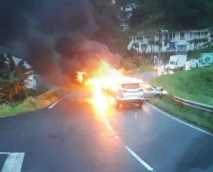 Un accident fait plusieurs blessés à Capesterre Belle-Eau