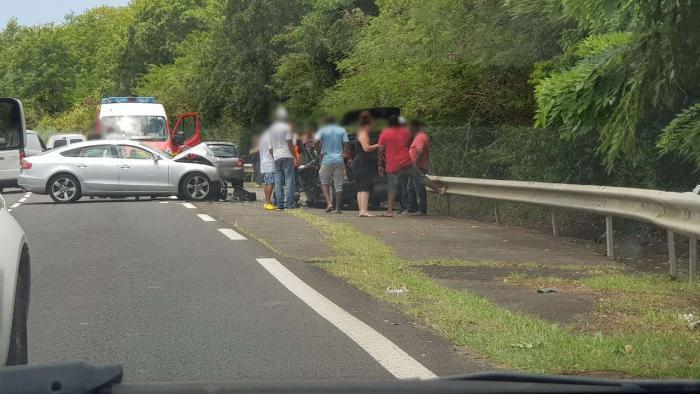 Un accident à Sainte-Luce fait 3 blessés dont un grièvement