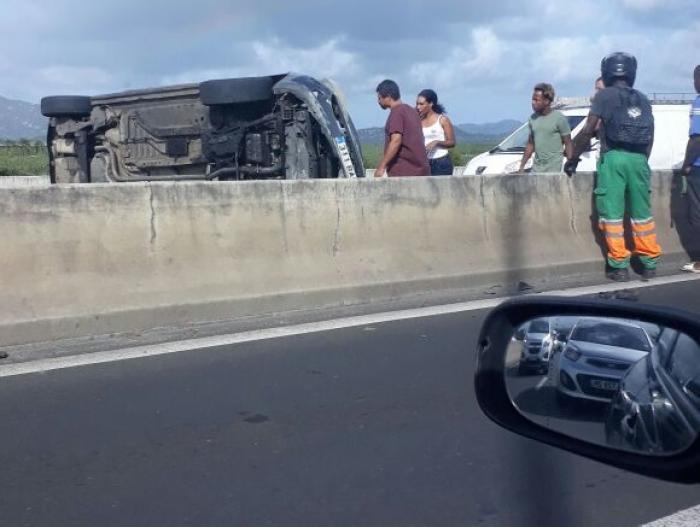 Un accident provoque d'énormes embouteillages sur la RN 5 au niveau de l'aéroport