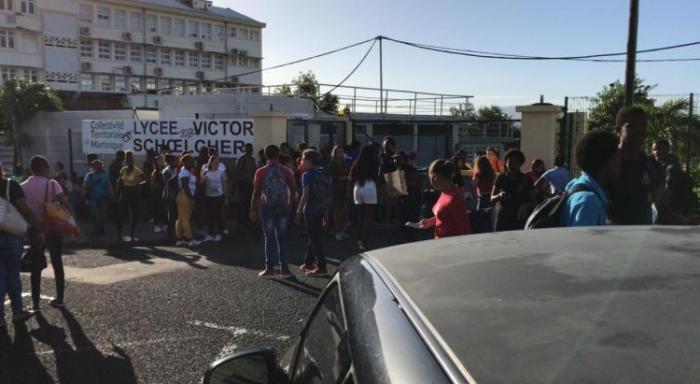 Un appel à la grève provoque des perturbations dans certains lycées de Martinique
