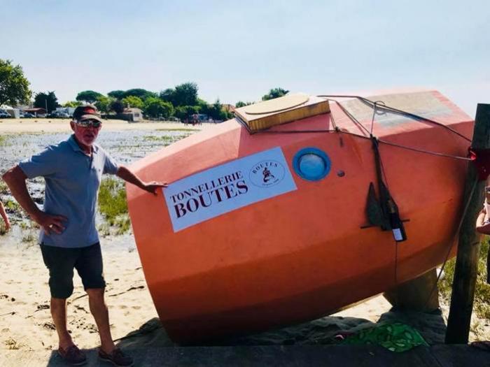 Un aventurier de 71 ans veut traverser l'Atlantique en tonneau
