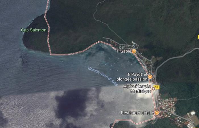 Un baigneur tué par un bateau aux Anses d'Arlets
