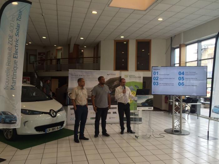 Un challenge pour prouver que rouler en électrique en Martinique est possible