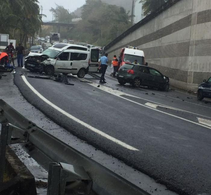 Un choc frontal entre deux véhicules fait 3 blessés légers sur la RN5 à Sainte-Luce