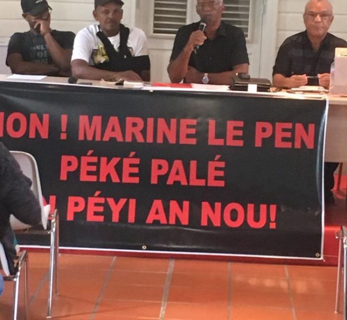 Un collectif contre la venue de Marine Le Pen aux Antilles
