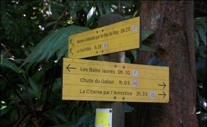Un couple de touristes égaré et retrouvé aux alentours des chutes du Galion