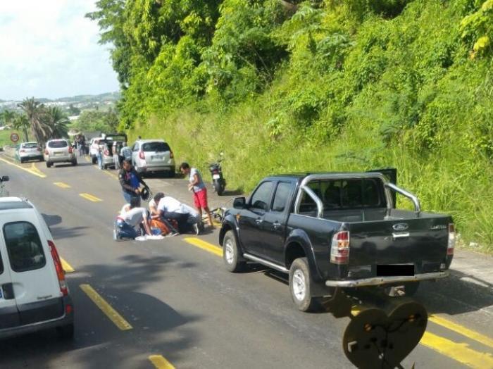 Un cycliste renversé sur la RN5 au niveau de Génipa