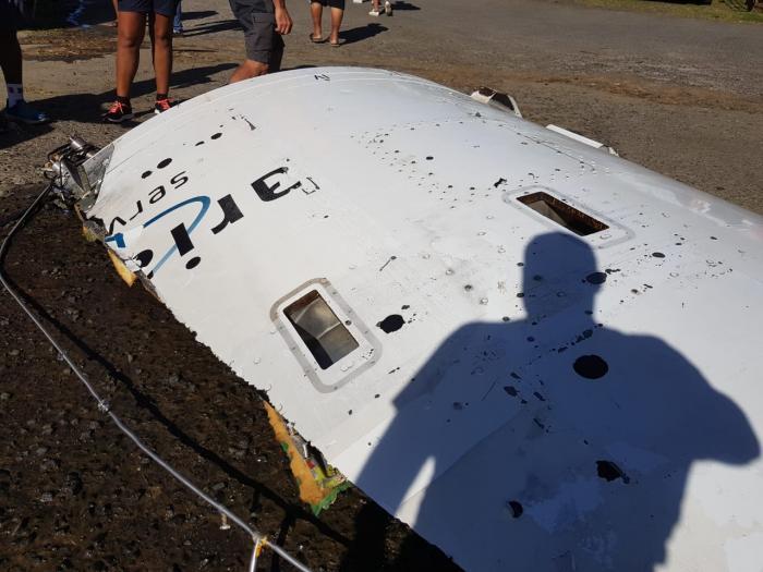 Un débris de la fusée Ariane retrouvé en mer au François ?