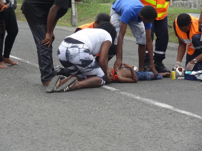 Un enfant renversé par un véhicule léger à Capesterre-Belle-Eau