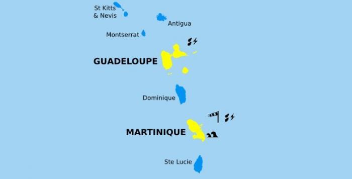 Un forte perturbation approche, la Martinique en vigilance jaune