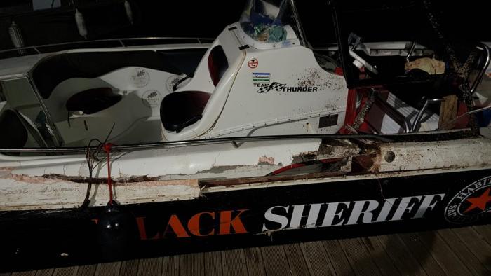 Un homme gravement blessé au visage dans un accident de bateau