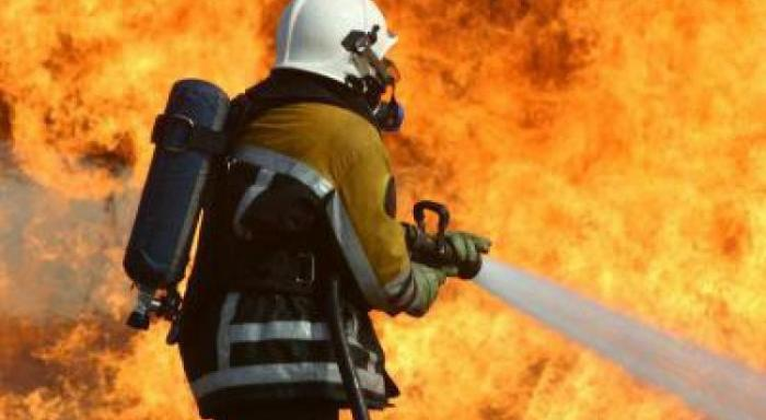 Un incendie en cours à Grand-Camp