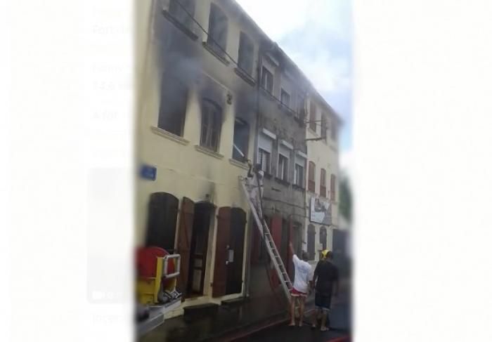 Un incendie fait une victime à Saint-Pierre