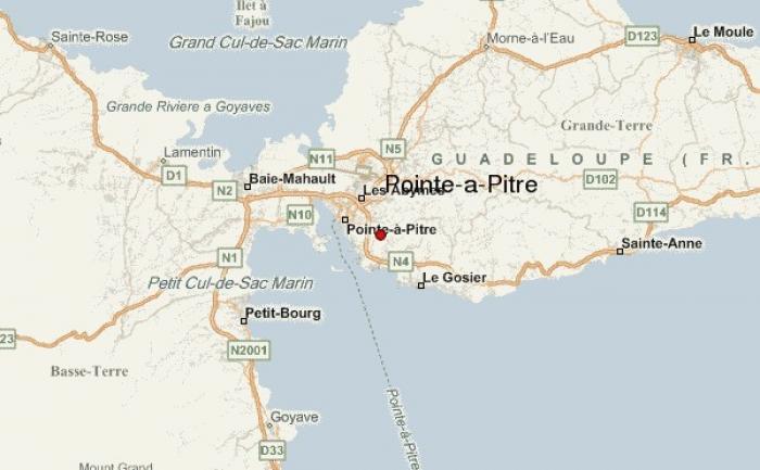 Un incendie mortel à Pointe-à-Pitre