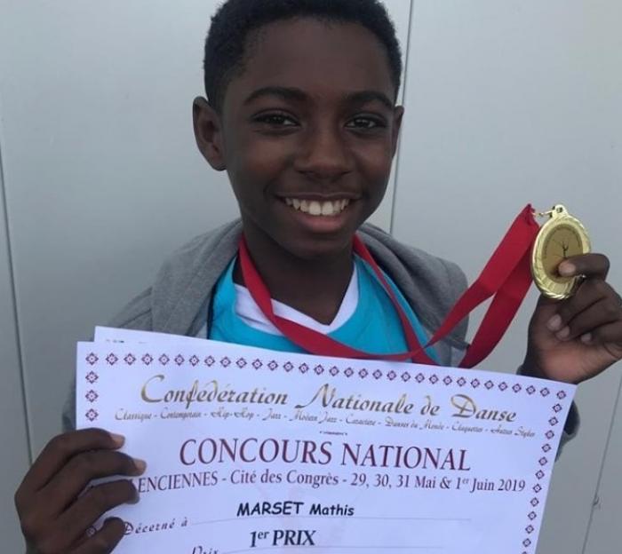 Un jeune guadeloupéen Premier Prix National de danse classique