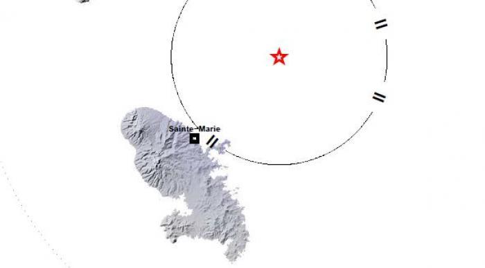 Un léger séisme faiblement ressenti en Martinique
