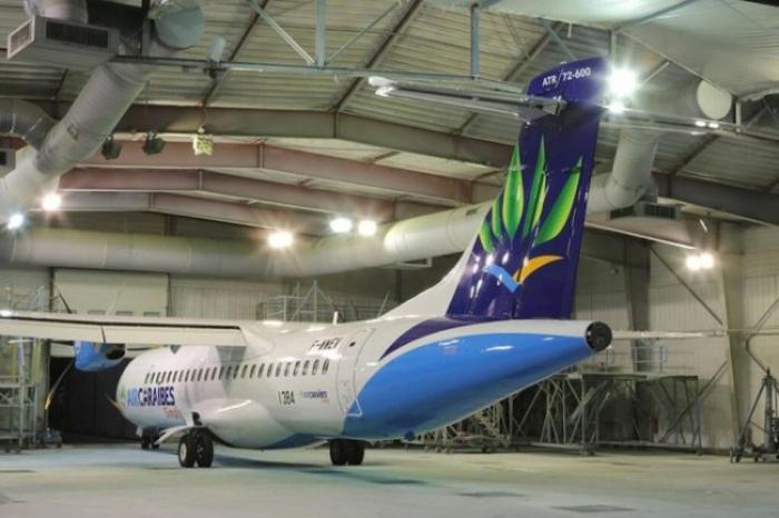 Un long périple pour le nouvel avion de la flotte Air Caraïbes