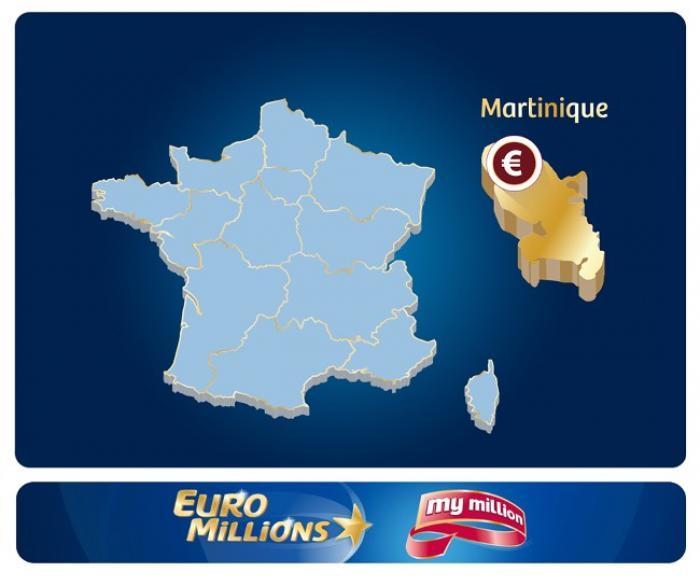 Un Martiniquais remporte le tirage My Million