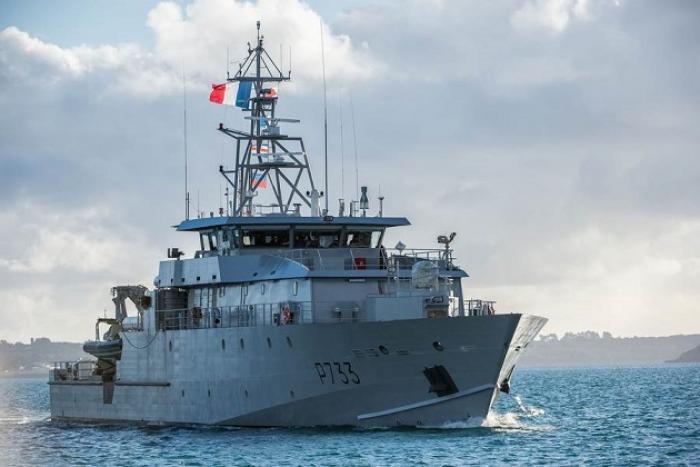 Un nouveau patrouilleur militaire pour les Antilles