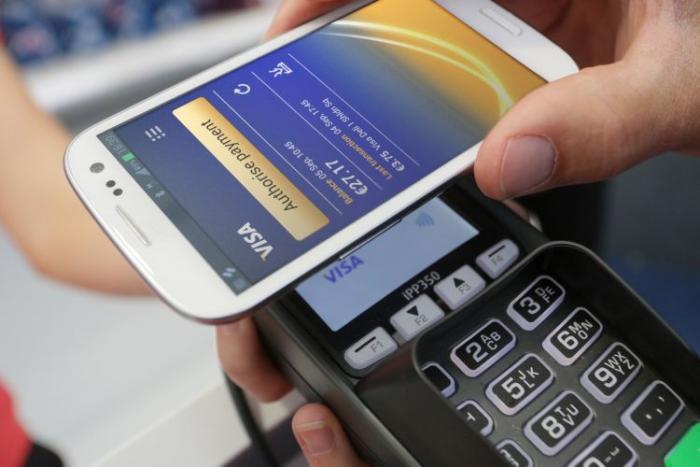 Un paiement sans contact proposé par le Crédit Agricole