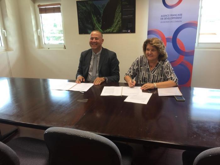 Un partenariat entre l'AFD et la Désirade