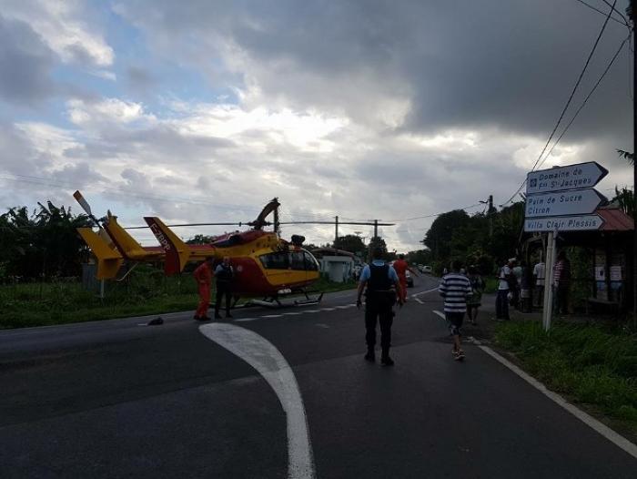Un piéton de 52 ans meurt renversé à Sainte-Marie